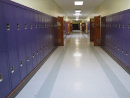 School Corridor Lockers Wisconsin